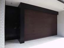 1階のガレージオフィス