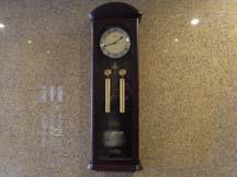 古時計(ほんとは新しい)が時を刻む、なんてね
