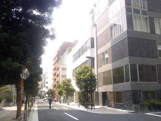 綺麗な通り沿い♪皇居へ一本道ですよ^^