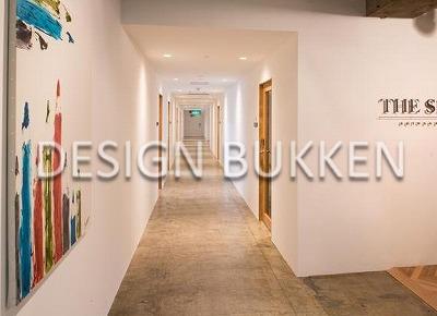 共用廊下: センスあふれる内装空間