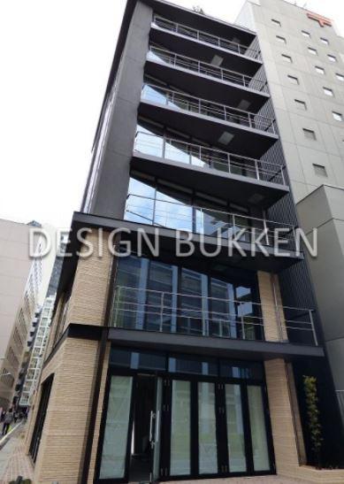 建物外観: デザイン性も高い